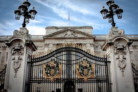 File photo of Buckingham Palace gate