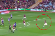 Scottish midfielder John McGinn scores a sublime goal-of-the-season contender for Aston Villa
