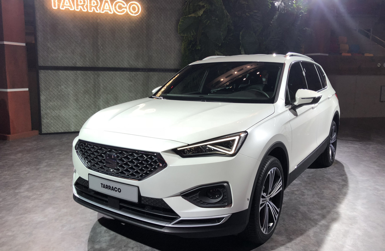 Seven Seater Suv >> SEAT unveils its all-new Tarraco SUV - the biggest in its ...