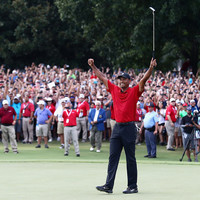 Incredible scenes as Tiger Woods triumphs in Tour Championship to complete remarkable comeback