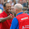 Tiger Woods: 'I was having a hard time not crying on the last hole'