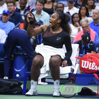 Serena says women could not get away with 'even half of what a guy can do'