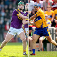 Clare and Wexford hurling championship semi-final draws made