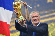 World Cup-winning boss Deschamps beats Zidane to Fifa's best coach award