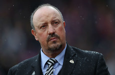 Rafael Benitez charged by FA for referee comment relating to Zaha treatment