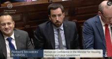 Eoghan Murphy keeps his job as motion of no confidence is defeated
