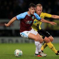 Ireland defender Kevin Long scores but Burnley crash out of Carabao Cup at the hands of Burton