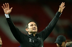 Lampard 'shell-shocked' as his Derby side win at Old Trafford