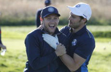 Let's take a second to ponder Niall Horan and Jamie Dornan's friendship
