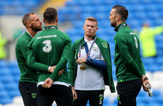James McClean set for return to full training after recent wrist injury