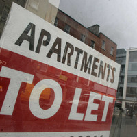 The national average rent is now almost €1,100 per month