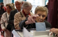 Turnout solid in first round of French presidential election