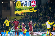 Seven Up! Teenager scores on debut as Dortmund keep heat on Bundesliga leaders Bayern