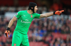 Petr Cech's headgear gaffe and more tweets of the week