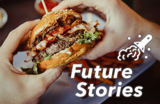 Swap your takeaway for a test-tube burger: Hear about the future of your dinner in our latest podcast