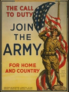 See the posters that lured the 'Lost Generation' to war