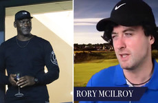 Michael Jordan advises US Ryder Cup team as Europe recruit Irish impressionist