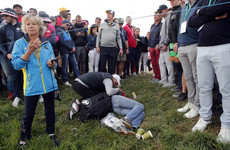 Woman injured at Ryder Cup after being struck by wayward tee shot
