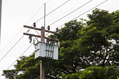 File photo of electricity wires