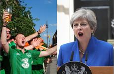 Theresa May throws 'full support' behind joint Irish-British World Cup bid for 2030