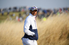 Furyk denies Woods suffering with back injury