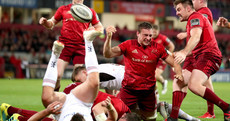 Rampant Munster run riot to inflict nine-try hammering on sorry Ulster