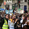 Large crowds as March for Choice takes place in Dublin