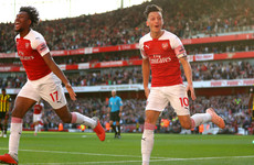 Unai Emery's swaggering Arsenal secure fifth Premier League win in a row with two goals in final 10 minutes