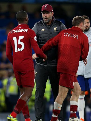 Stunning late strike by super sub Sturridge keeps Liverpool unbeaten