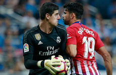 Real Madrid drop points again as Courtois stars in  Madrid derby