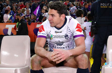 Storm captain: Retiring rugby league legend Slater 'deserved more respect' than boos in final game