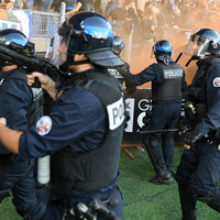 Ligue 1 game stopped for over 20 minutes due to crowd trouble as rivals clash for first time since '93