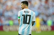 c70b9e0ff Maradona urges Messi to retire from Argentina duty   The U15s lose and it s  his