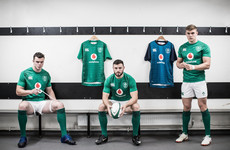 New Ireland rugby shirts launched ahead of November series