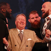 Heavyweight rivals Wilder and Fury square up during frenetic press conference