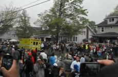 VIDEO: US college party turns into riot