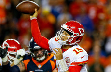 Mahomes leads Chiefs to comeback win over Broncos