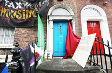 Owners of Dublin building occupied by protesters say it is 'not safe'