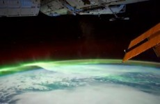And here is the view from space...