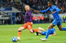 Late, late show! Silva winner gets Manchester City back on track in Europe