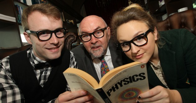 Minister for Education in Hipster Glasses Pic of the Day