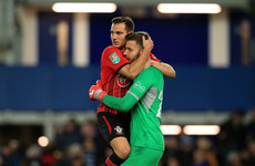 Penalty drama at Goodison as Southampton win League Cup shoot-out to eliminate Everton
