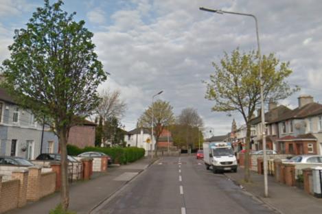 The incident happened on Bulfin Road, Kilmainham