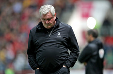 Aston Villa sack Steve Bruce hours after fan throws cabbage at him