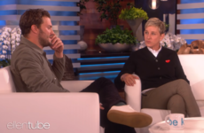 The cultural differences between Jamie Dornan and Ellen became clear when he spoke about his daughter's disco party