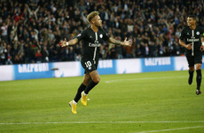 Neymar bags a hat-trick as PSG rebound from Liverpool loss