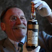 Extremely rare bottle of scotch sold for world record €947k at auction
