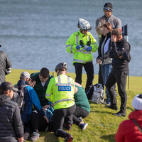 Woman injured after being struck by wayward shot at Alfred Dunhill Links