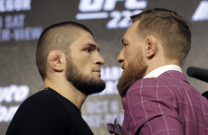 LIVE: Nurmagomedov v McGregor in the UFC 229 pre-fight press conference