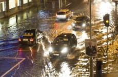Dublin flood works not yet completed